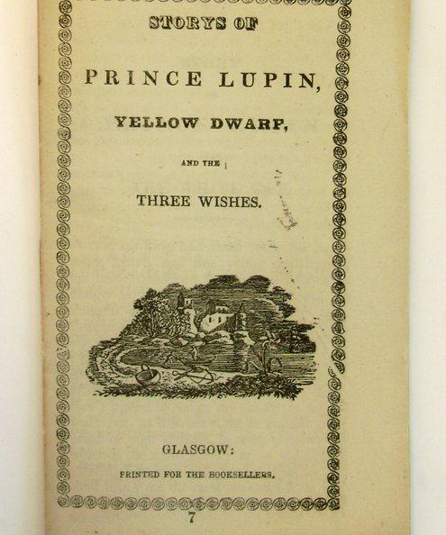 Storys of Prince Lupin, Yellow Dwarf and the Three Wishes