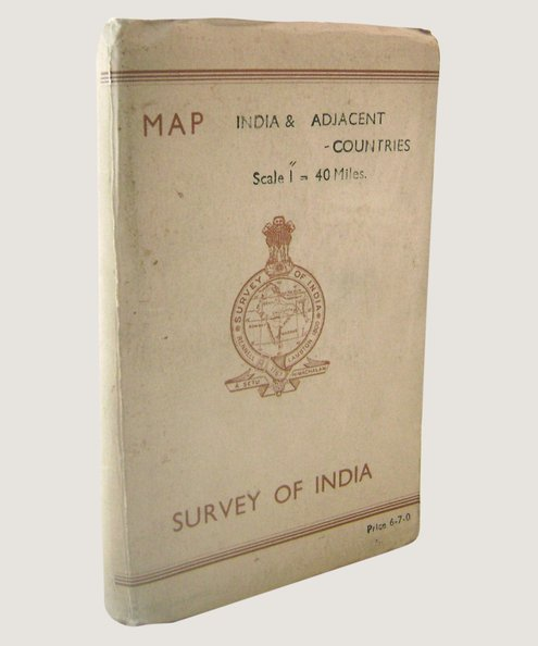 Map: Survey of India [40 mile].