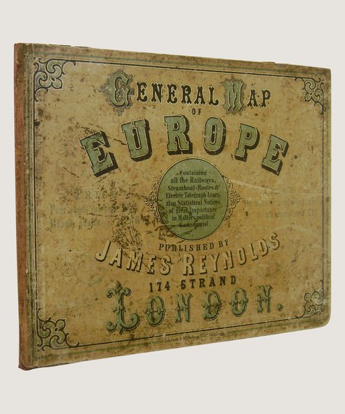 General Map of Europe.  Reynolds, James.