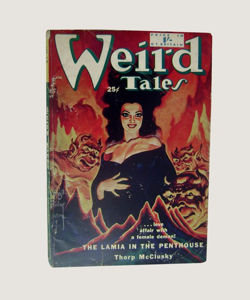 Weird Tales No 17 [UK Edition].  McIlwraith, D (editor).