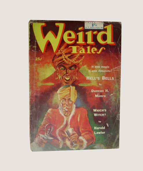 "Weird Tales No 18 [UK Edition]. [Contains ""Alethia Phrikodeas"", a poem by H P Lovecraft].  McIlwraith, D (editor)."