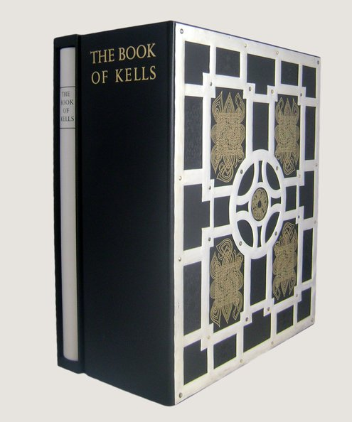 The Book of Kells [with] The Book of Kells M58 Trinity College Library Dublin; Commentary. Fine Art Facsimile.