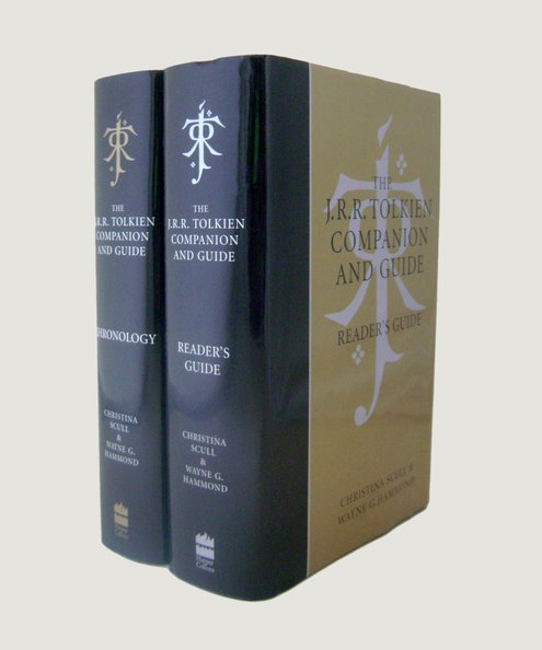 The J.R.R. Tolkien Companion and Guide [2 volume boxed set].  Scull, Christina & Hammond, Wayne G.