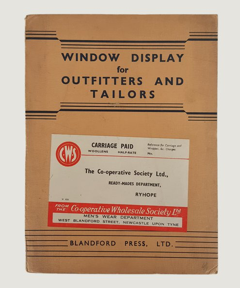 Window Display for Outfitters and Tailors.  [Harman, Richard].